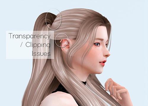 Obsidian Sims: Snapdragon Hair