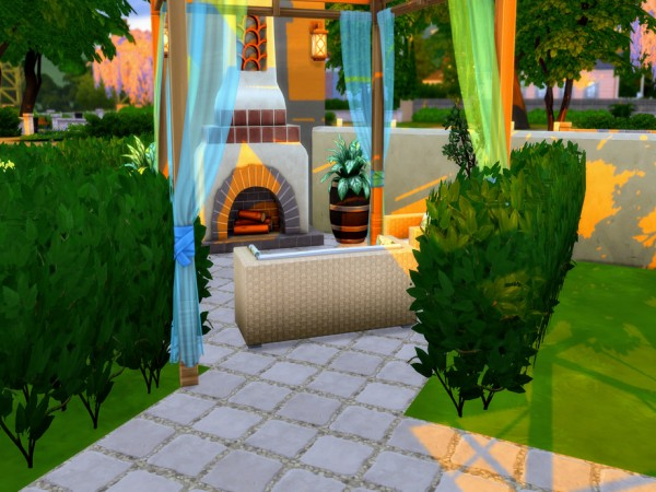 The Sims Resource: Cozy Angles House by LJaneP6