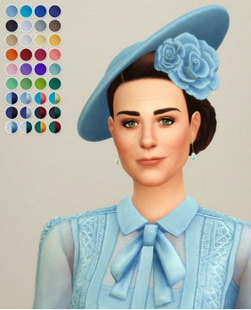 Rusty Nail: Duchess of Blue   Hat