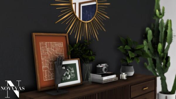NOVVAS: Mid Century Modern Livingroom