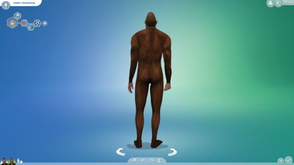 Mod The Sims: Bigfoot Head and Body by  tklarenbeek