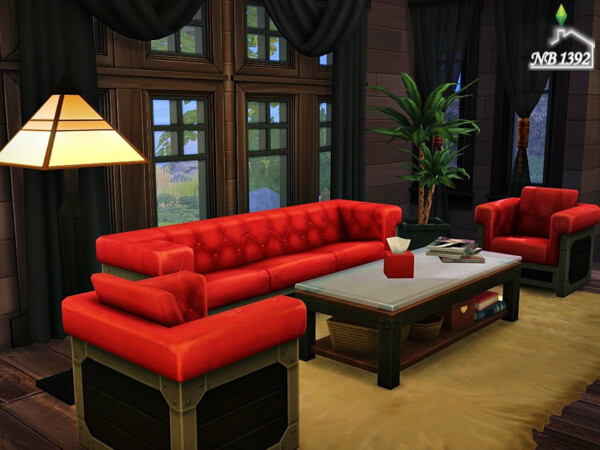 The Sims Resource: Wooden Corner (No CC!) by nobody1392