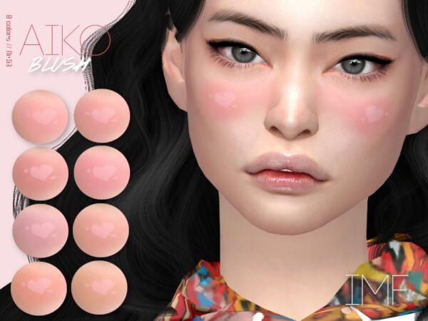 The Sims Resource: Aiko Blush N.53 by IzzieMcFire