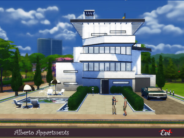 The Sims Resource: Alberto Apartments by Evi