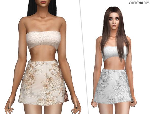 The Sims Resource: Athena Dress by CherryBerrySim