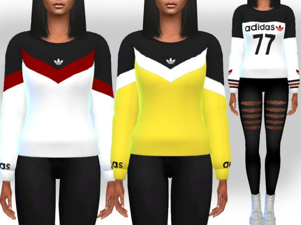 The Sims Resource: Athletic and Casual Sweats by Saliwa