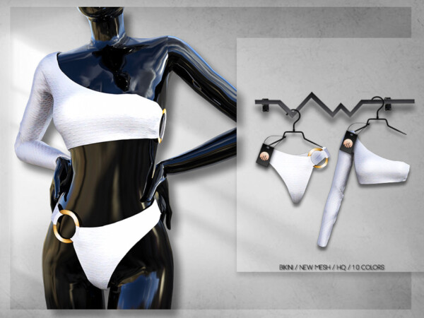 The Sims Resource: BD259 Swimsuit by busra tr