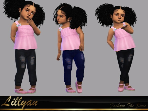 The Sims Resource: Baby pants by LYLLYAN
