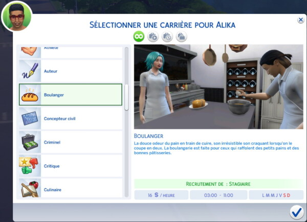 Mod The Sims: Bakery Career by sorG