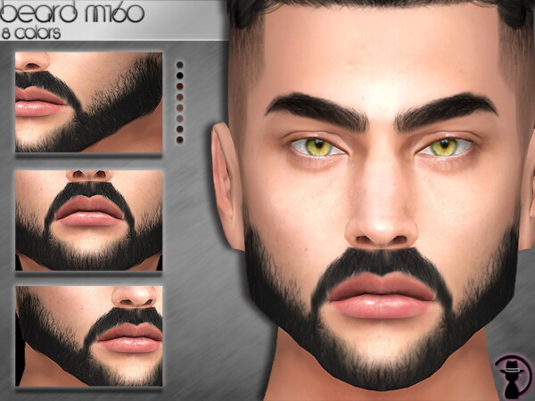 The Sims Resource: Beard M160 by turksimmer