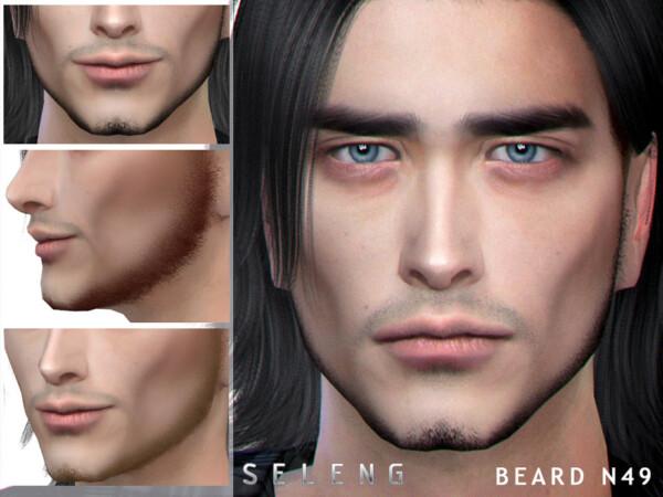 The Sims Resource: Beard N49 by Seleng