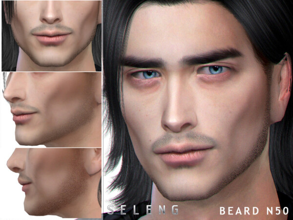 The Sims Resource: Beard N50 by Seleng
