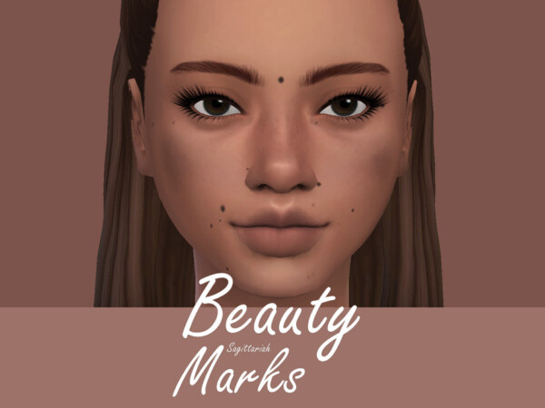 The Sims Resource: Beauty Marks by Sagittariah