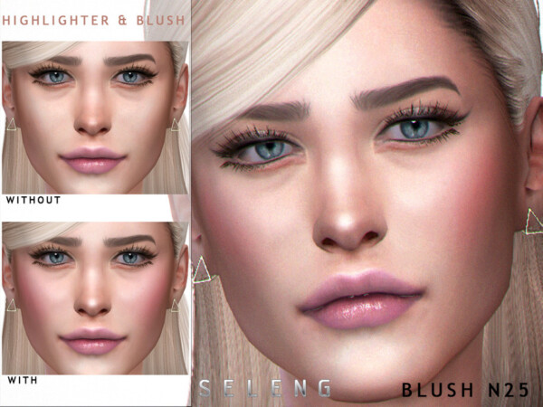 The Sims Resource: Blush N25 by Seleng