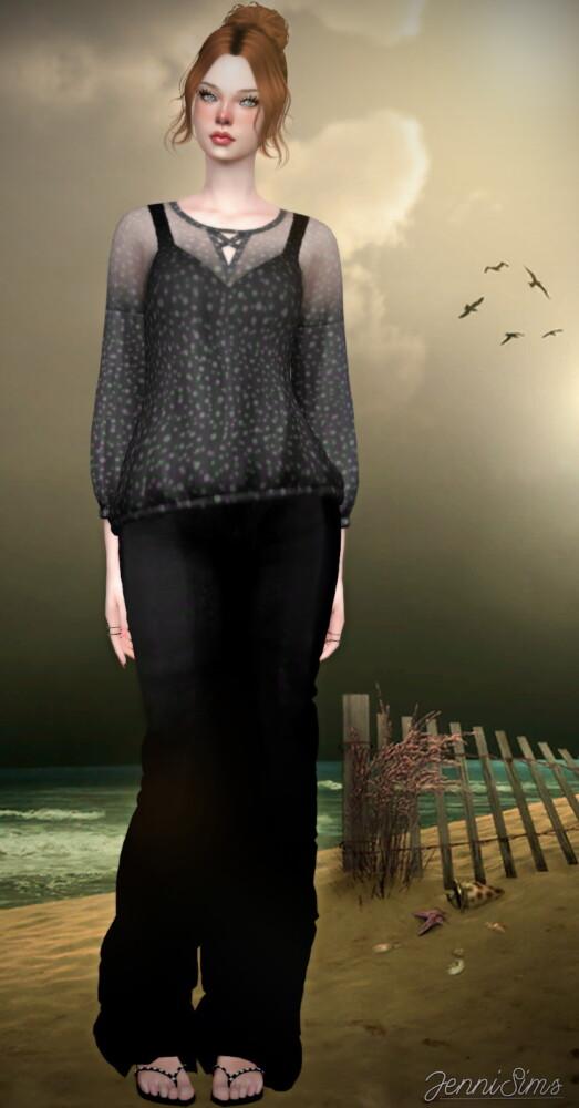 Jenni Sims: Boho Blouse