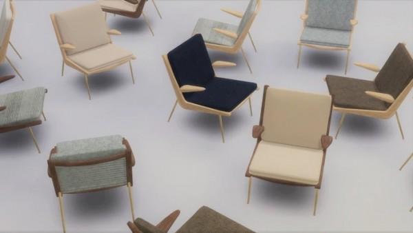 Meinkatz Creations: Boomerang Chair