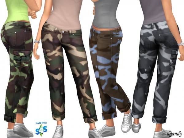 The Sims Resource: Camo 20200605 by dgandy
