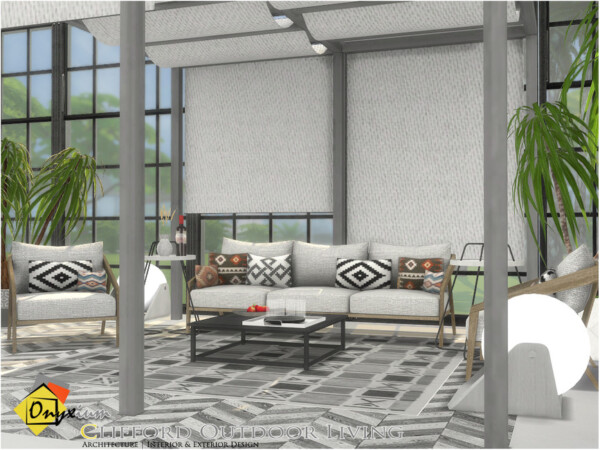 The Sims Resource: Clifford Outdoor Living by Onyxium