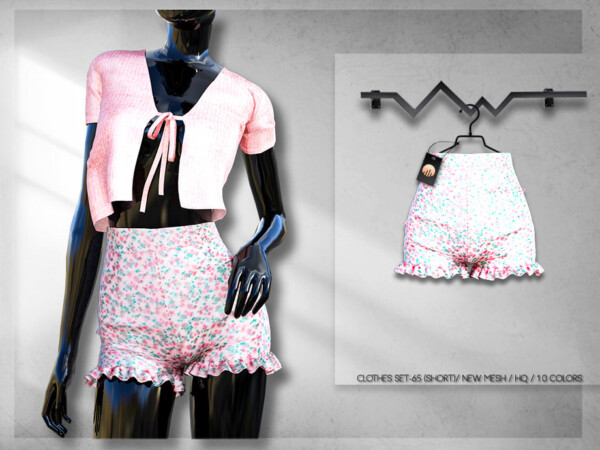 The Sims Resource: Clothes SET 65  Shorts BD254 by busra tr