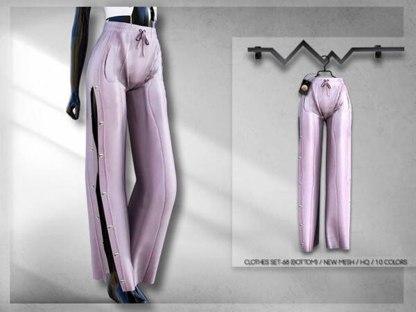 The Sims Resource: Clothes Set 68   Pants by busra tr