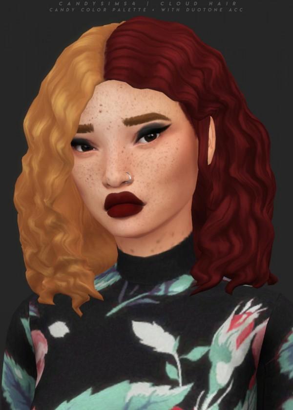 Candy Sims 4: Cloud Hair