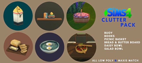 Leo 4 Sims: Clutter Pack