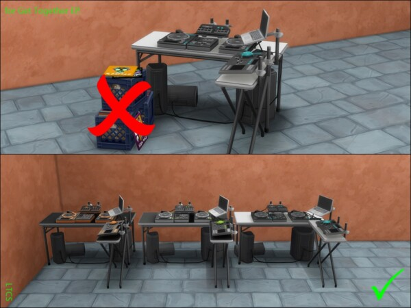 Mod The Sims: DJ Booth Clean by Lulu The Cute Sim