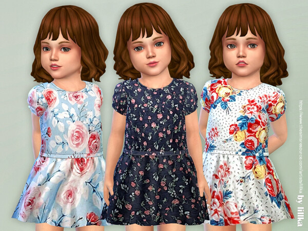 The Sims Resource: Toddler Dresses Collection P143 by lillka