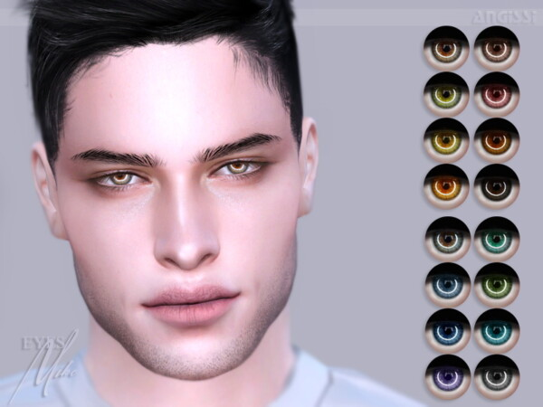 The Sims Resource: Eyes Mike by ANGISSI