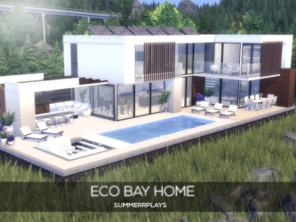 The Sims Resource: Eco Bay Home by Summerr Plays