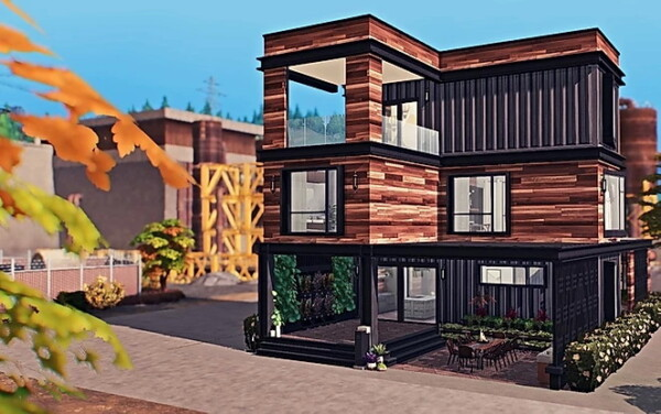 Blooming Rosy: Eco Chic Container Home