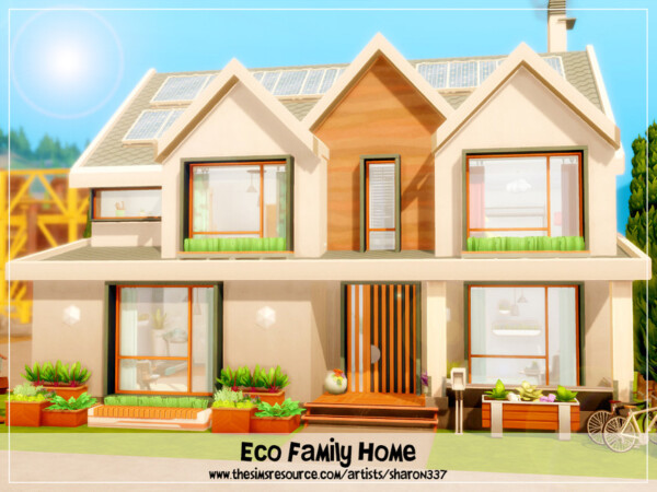 The Sims Resource: Eco Family Home   Nocc by sharon337