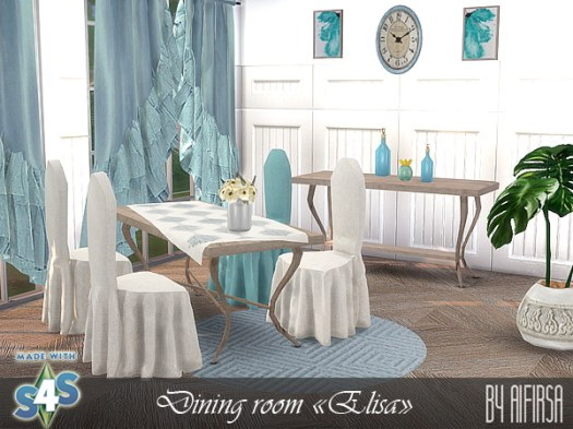 Elisa diningroom by Aifirsa