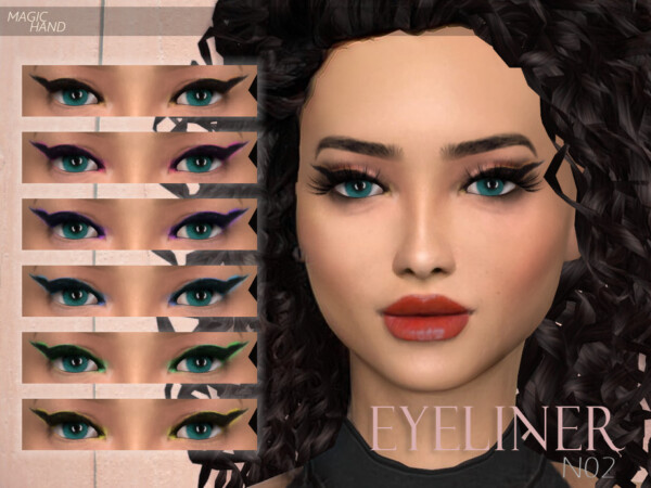 The Sims Resource: Eyeliner N02 by MagicHand