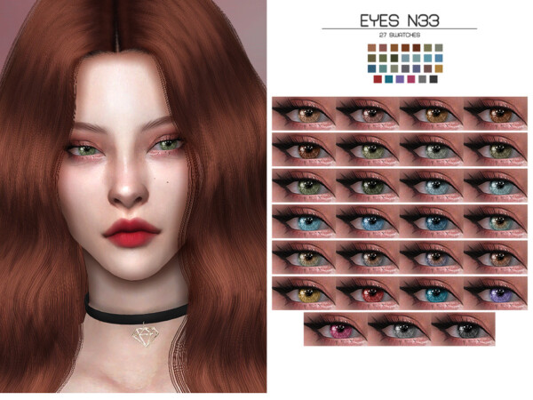 The Sims Resource: Eyes N33 by Lisaminicatsims
