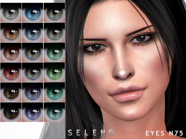 The Sims Resource: Eyes N75 by Seleng