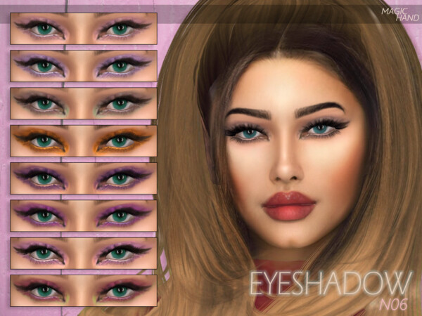 The Sims Resource: Eyeshadow N06 by MagicHand