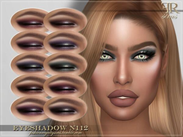 The Sims Resource: Eyeshadow N112 by FashionRoyaltySims