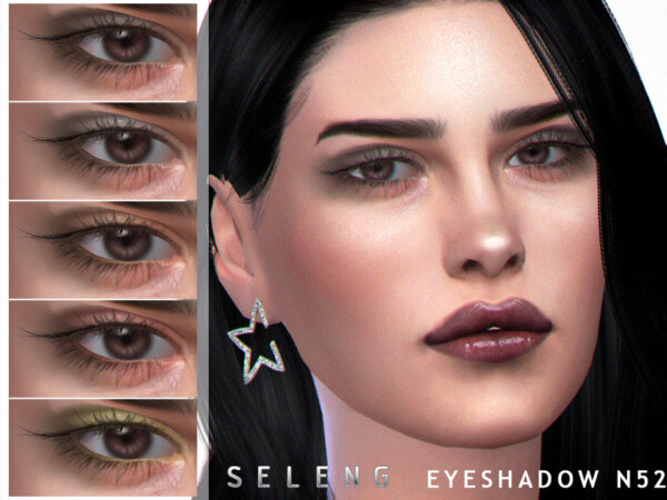 The Sims Resource: Eyeshadow N52 by Seleng