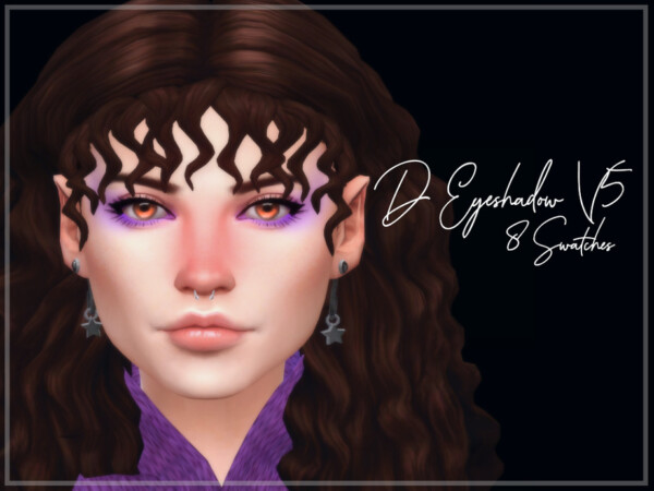 The Sims Resource: Eyeshadow V5 by Reevaly