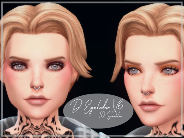 The Sims Resource: Eyeshadow V6 by Reevaly