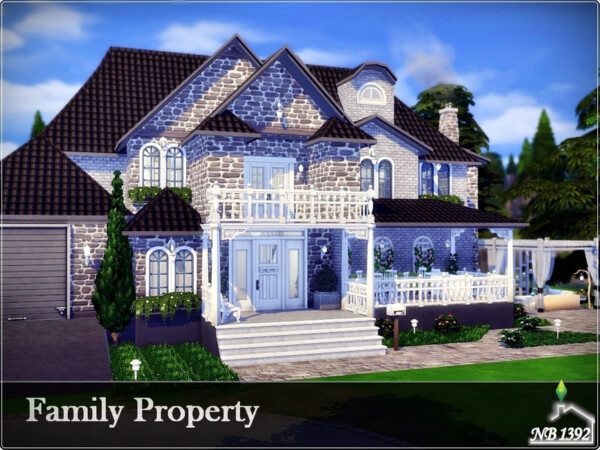 The Sims Resource: Family Property House   No CC by nobody1392