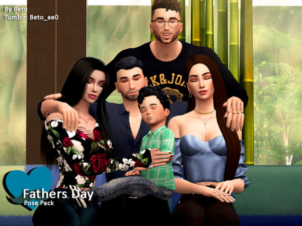 The Sims Resource: Fathers Day   Pose Pack by Beto ae0