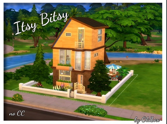 All4Sims: Itsy Bitsy home by Oldbox