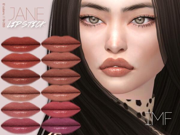 The Sims Resource: Jane Lipstick N.269 by IzzieMcFire