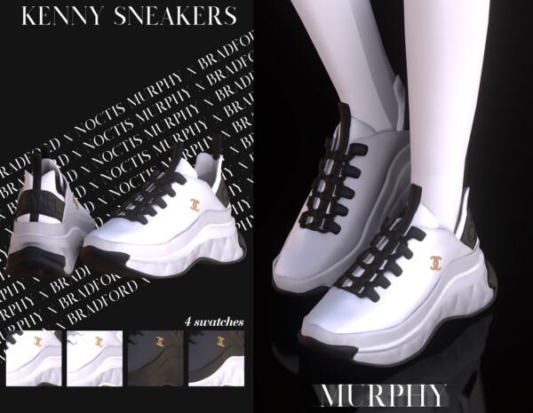 Murphy: Kenny Sneakers by  Silence Bradford