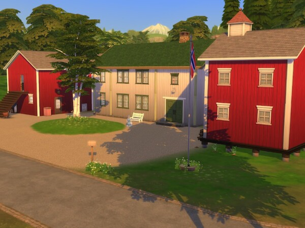KyriaTs Sims 4 World: Landsem parsonage