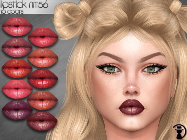 The Sims Resource: Lipstick M156 by turksimmer