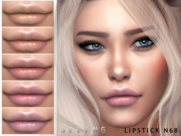 The Sims Resource: Lipstick N68 by Seleng