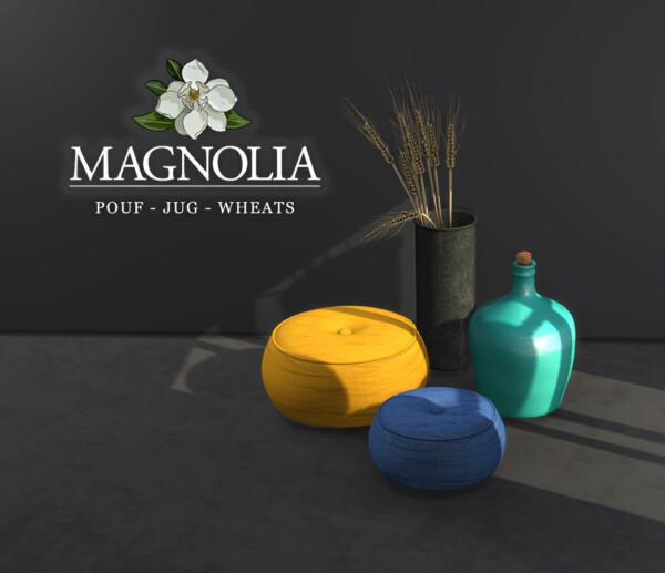Leo 4 Sims: Magnolia Pouf